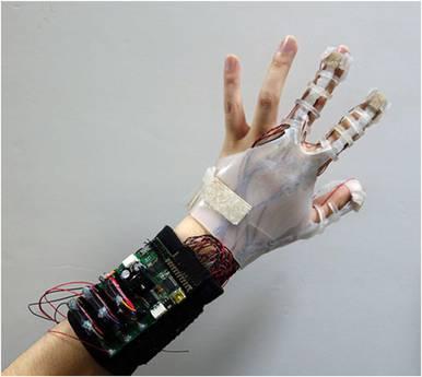gant bluetooth virtuel