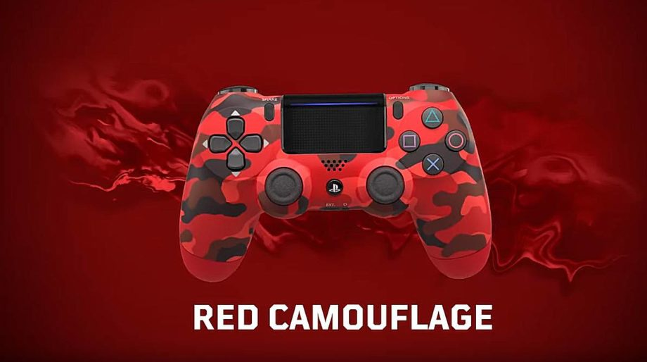 Dualshock 2019 Red Camouflage