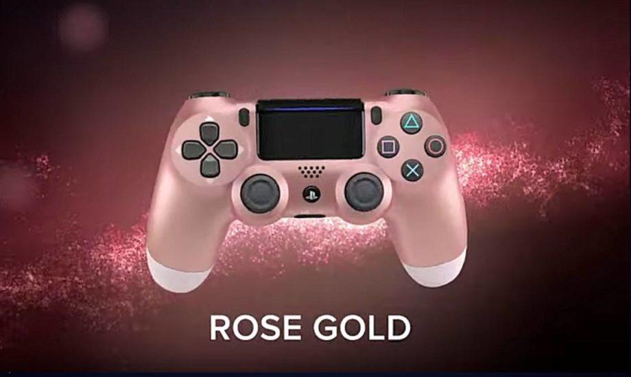 Dualshock 2019 Rose Gold