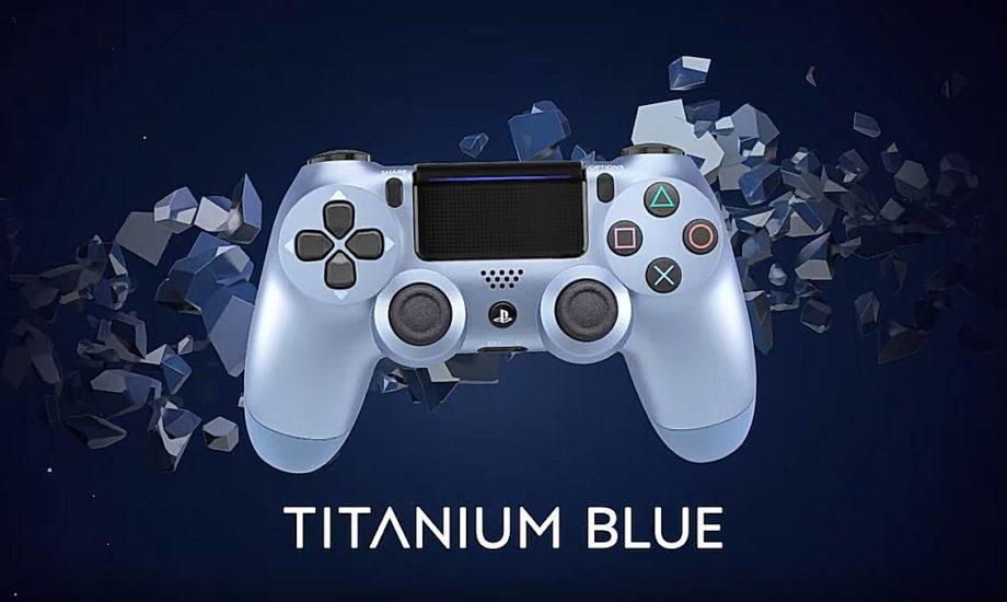 Dualshock 2019 titanium Blue