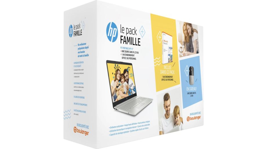 Pack Famille HP