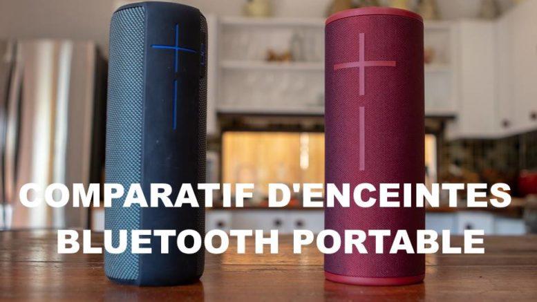 comparatif enceinte bluetooth portable