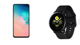 Galaxy S10E Galaxy Watch Active
