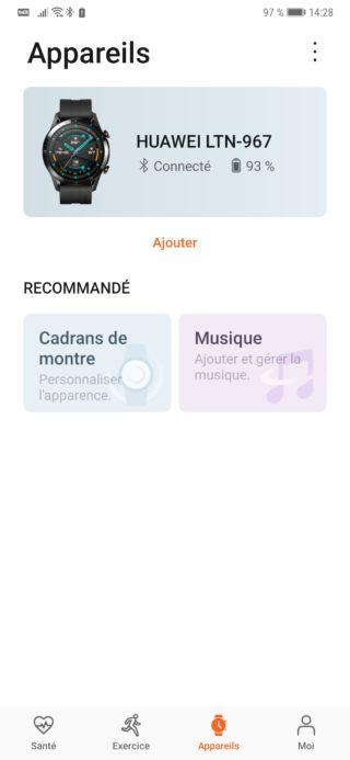 App Huawei santé