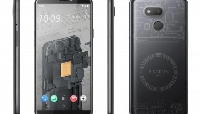 Htc Exodus 1s Le Premier Smartphone Block Chain Débarque