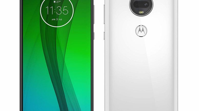 Motorola G7 version blanche