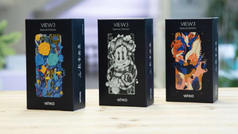 wiko Views 3 edition speciale