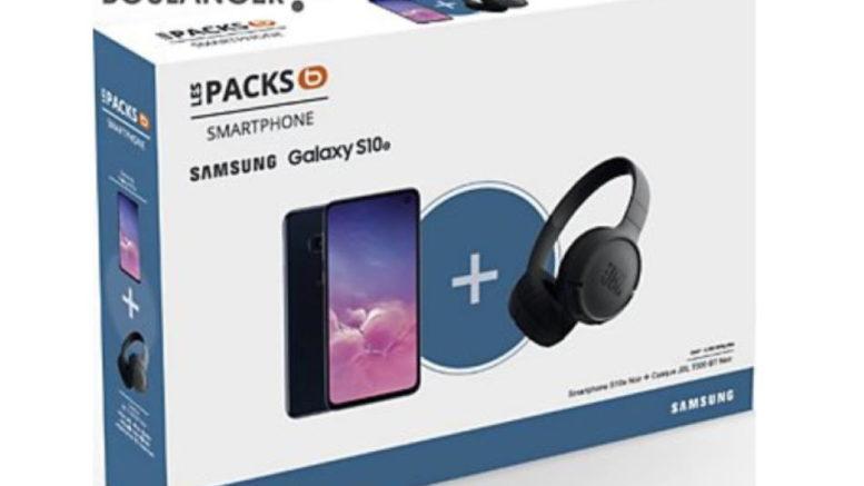 Pack Samsung S10E + Casque JBL T500 BT