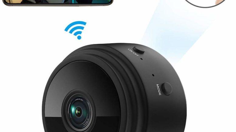 ieGeek Mini Caméra Espion WiFi