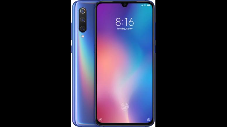 Xiaomi Mi 9 Bleu Ocean