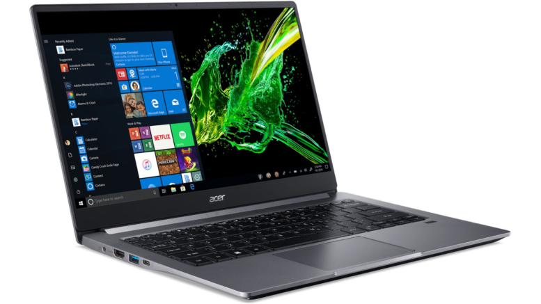 Acer Swift SF314-57-74J9 Gris