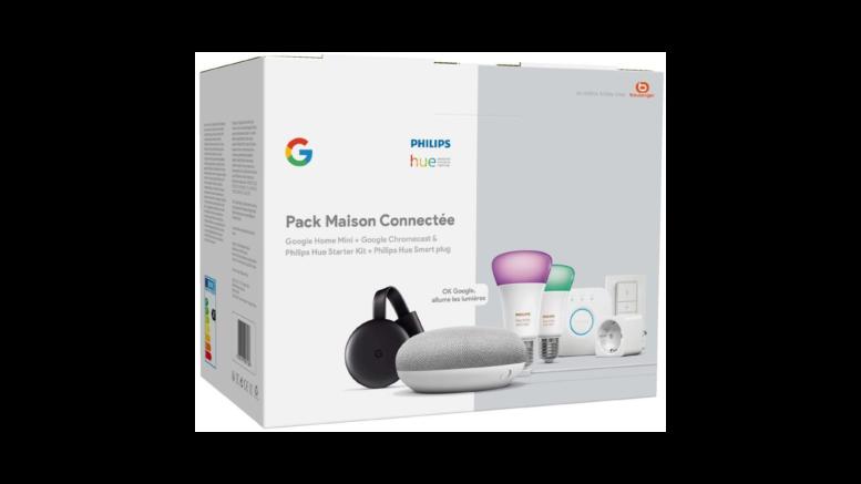 Pack Philips Hue Google Maison connectée