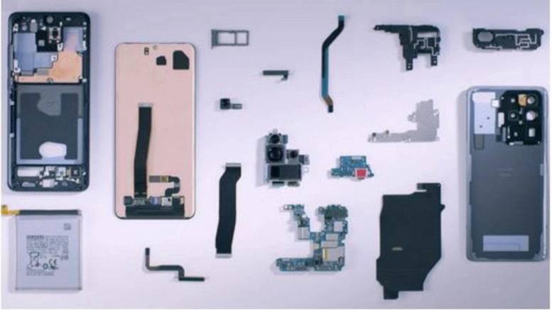Samsung Galaxy S20 Ultra interior