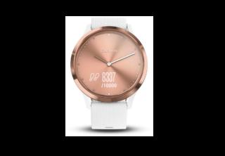 Garmin Vivomove HR Sport Rose gold-white S/M