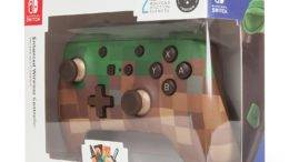 POWER A Enhanced Wireless Controller Minecraft Grass Block