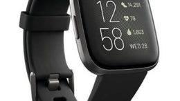 Fitbit Versa 2 noir carbone