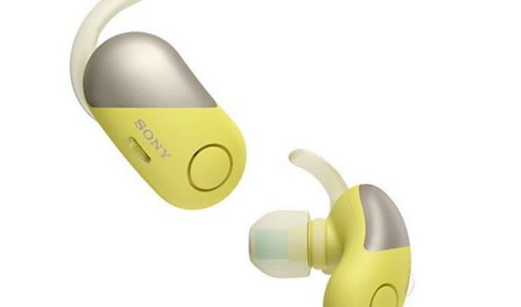 Sony WF-SP700NB.CE7 Jaune
