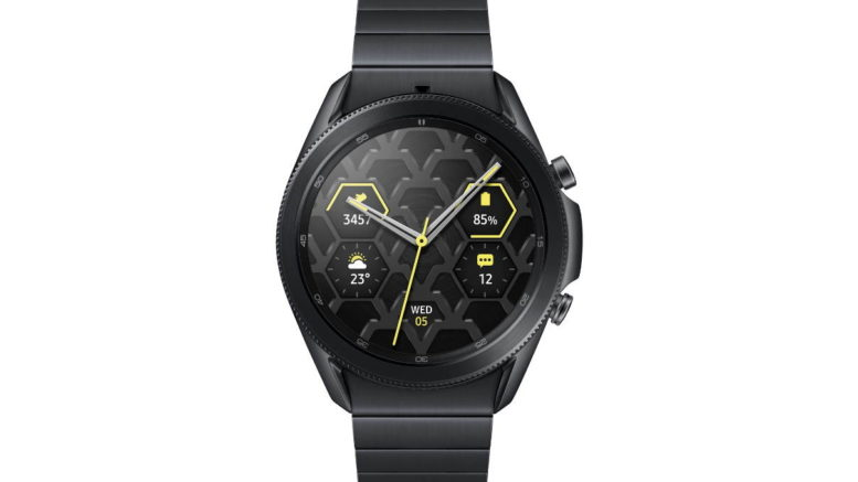 Galaxy Watch3 Titanium