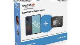 Samsung Pack A51 Noir