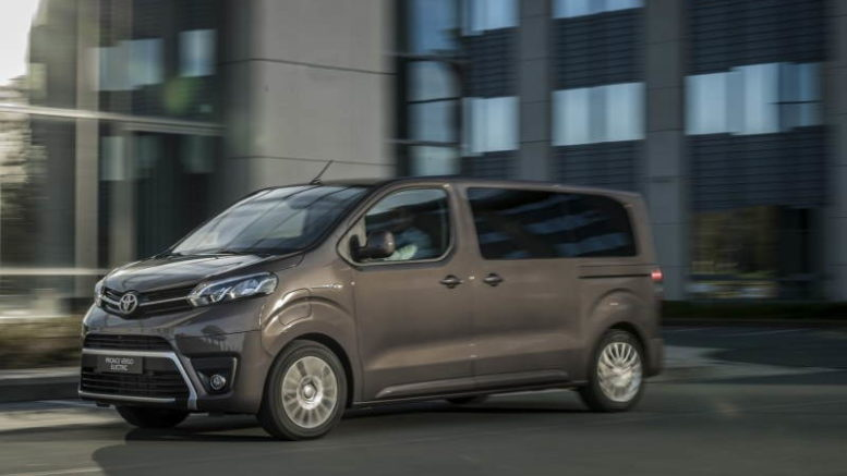 PROACE Electric Toyota