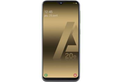 Samsung Galaxy A20E Noir.