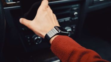 Montre Connectée Poignet Homme Voiture