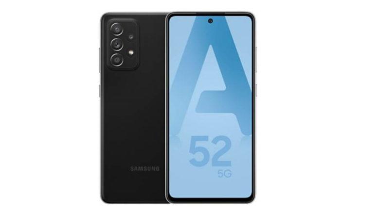 Samsung Galaxy A52 Noir 5G