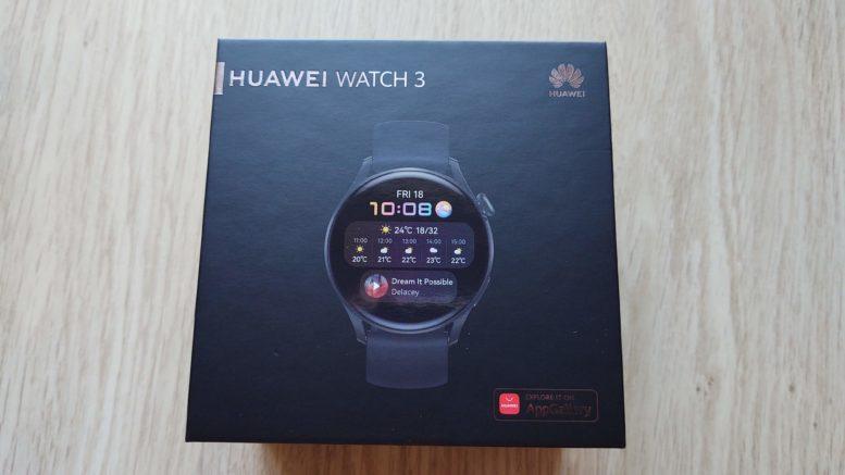Huawei Watch 3 montre connectée