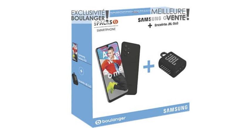 Pack Smartphone Samsung A32 Noir 4G