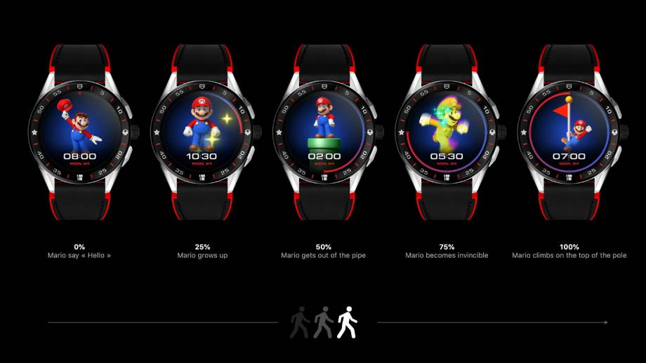 TAG Heuer connected Watch Super Mario