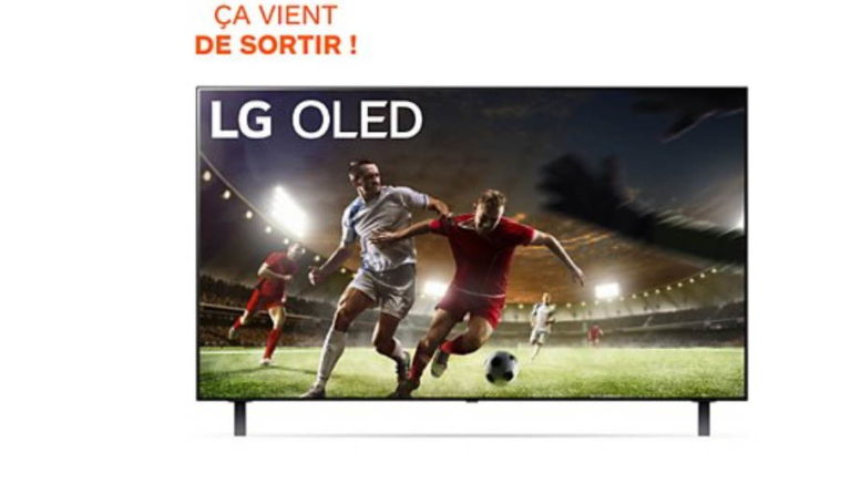 TV OLED LG 48A1 2021.