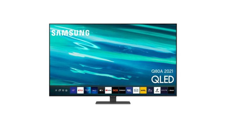 TV QLED Samsung QE55Q80A 2021