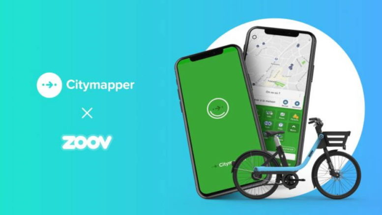 Zoov citymapper